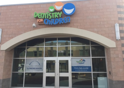 Fairfax Dentistry Channel Letters Exterior Sign