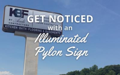 Pylon Pole Sign for Contractor in Leesburg, VA