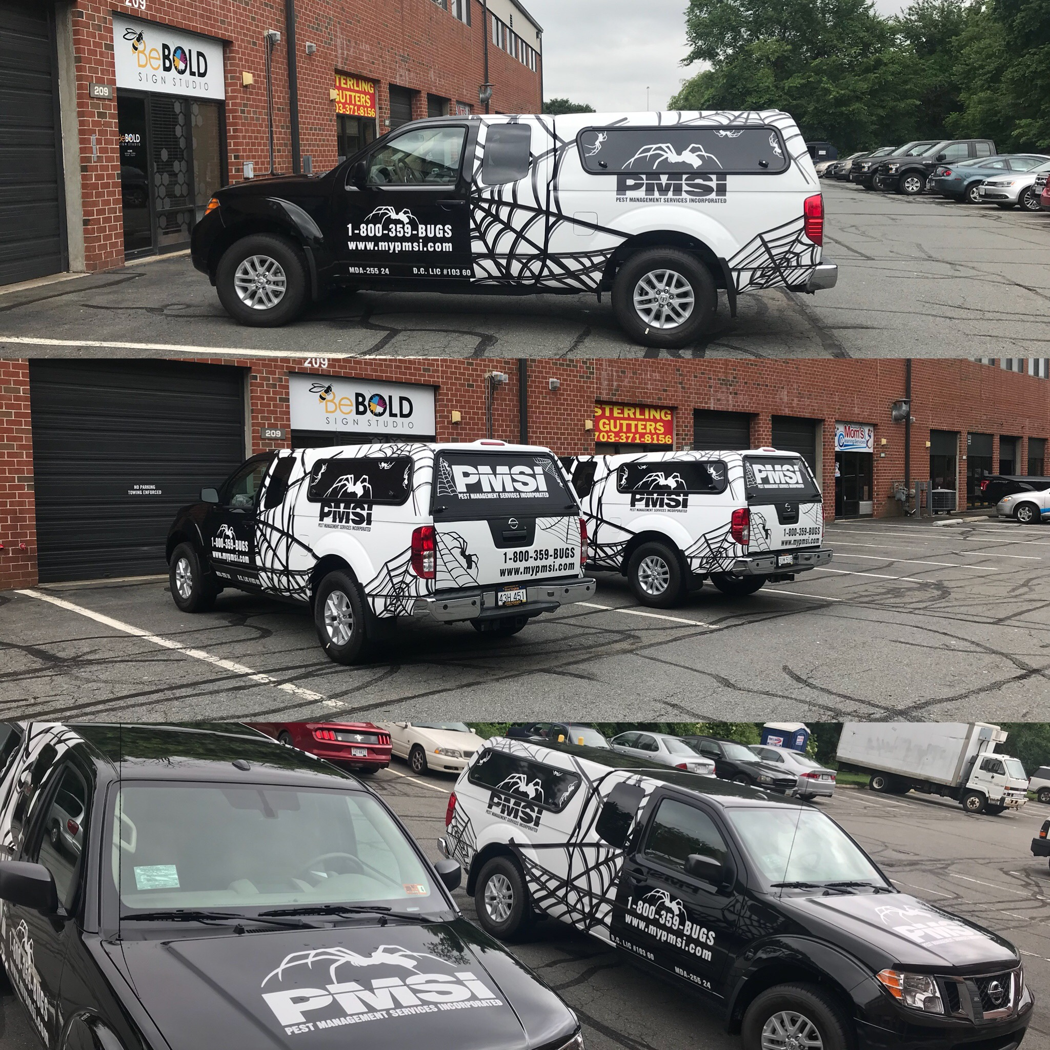 Fleet Wrap Signs By Bebold Signs Sterling Fairfax